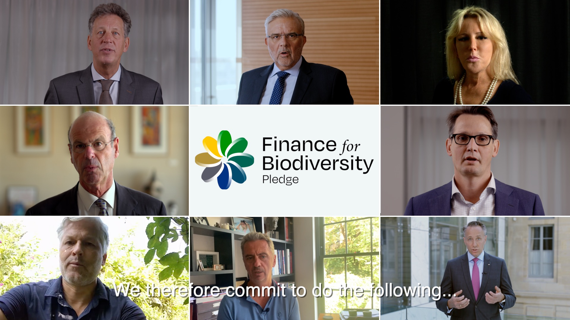 Launch Finance for Biodiversity Pledge
